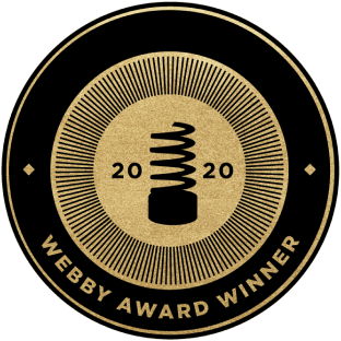 Webby Award 2020 Badge